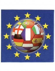 Europa fodbold servietter