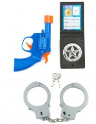 Politi-sæt Legetøjsvåben