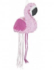 Piñata lyserød flamingo 90 x 48 cm