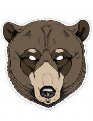 Maske pap bjørn
