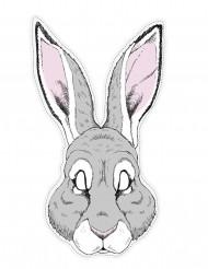 Maske af papir kanin