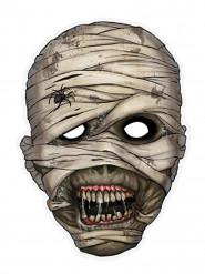 Maske af papir mumie
