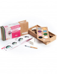 Makeup sæt 8 farver fornøjelsernes verden BIO Namaki Cosmetics