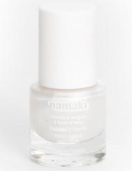 Vandbaseret neglelak peeling hvid perlemor 7,5 ml Namaki Cosmetics