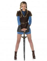 Vikingekvinde Blå