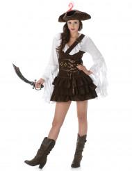Mrs. Feather - Piratkjole til kvinder