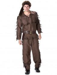 Pelsjæger Mand Kostume