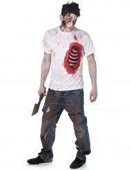 Zombiekostume med tarme Halloween