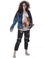 Zombiekostume Kvinde Halloween