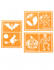6 Falske tatoveringer Halloween Snazaroo™