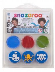 Mini-kit med sminke, pirat, Snazaroo™