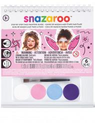 Mini-kit med sminke samt bog - Snazaroo™