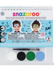 Mini-kit med sminke og bog, Snazaroo™