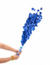 Blå konfettikanon 20 cm