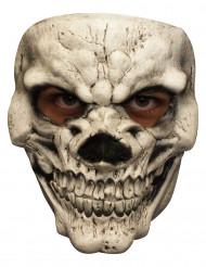Skeletmaske, smilet fra helvede, voksen