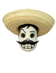 Maske Dia de los muertos Voksen