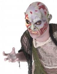 Zombiemaske med tandsæt Voksen