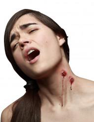 Falske vampyr bidsår til Halloween