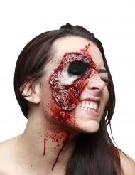Falsk sår - iturevet hud - Halloween