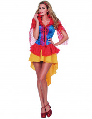 Eventyrprinsesse - fe Kostume med blonder kvinde