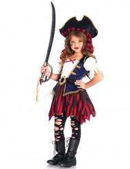 Miss Blue - Piratkostume til piger
