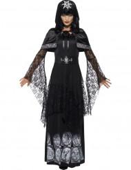 Kostume sort magi heks voksen halloween