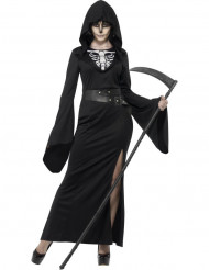 Kvinden med leen kostume voksen halloween