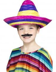 Sombrero flerfarvet til børn