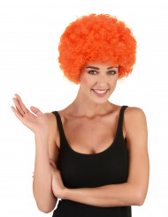 Orangefarvet klovneparyk standard til voksne