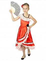 Kostume danserinde spansk med prikker til piger