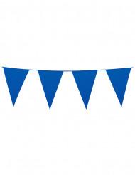 Vimpelguirlande 20 stk. blå 10 m