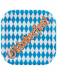 6 Paptallerkener Oktoberfest 25 cm