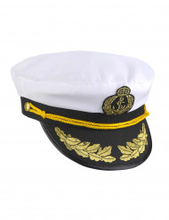 Kasket skibskaptajn til voksne