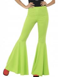 Grønne disko-bukser kvinde