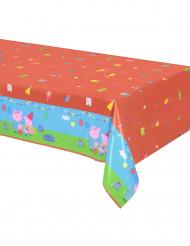 Rød plastikdug med Gurli Gris™ - 130 x 180 cm