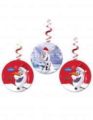3 hængende dekorationer Olaf Christmas™