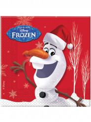 Servietter 20 stk. Olaf Christmas™