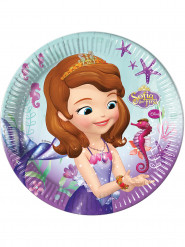 Prinsesse sofia™ paptallerkener 8 stk