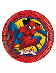 Tallerkener 8 stk. Ultimate Spiderman™