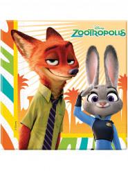 20 Papirservietter - Zootropolis™ 33 x 33