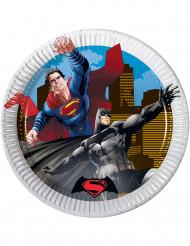 Små tallerkener 8 stk. Batman vs. Superman™ 19.5 cm