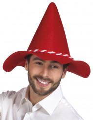 Hat bayersk rød til voksne