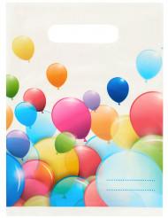 Gaveposer med balloner 6 stk