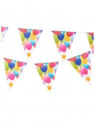 Guirlande 11 faner med balloner