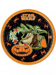 8 Paptallerkener Halloween Star Wars™ 23 cm