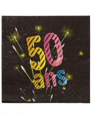 50 ans servietter