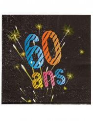 60 ans servietter