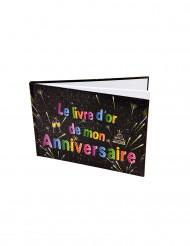 Fransk fødselsdagsbog med fyrværkeri