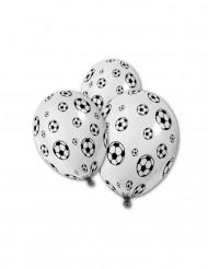 Balloner 5 stk. fodbold