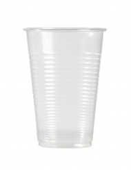 100 gennemsigtige plastikkrus